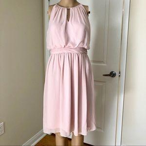 Adrianna Papell Short Light Pink/ Blush Dress